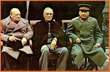 At Yalta the three great