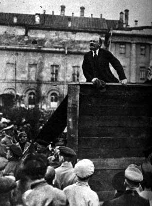 B. Lenin Returns to Russia 1.
