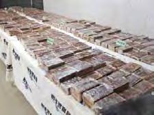 The 600 heroin bricks were discovered in 12 amplifier boxes in a container airlifted from Vietnam, the Criminal Investigation Bureau said.