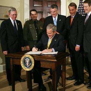 Presidential Action President Bush claimed a prerogative not to enforce those portions of a bill he