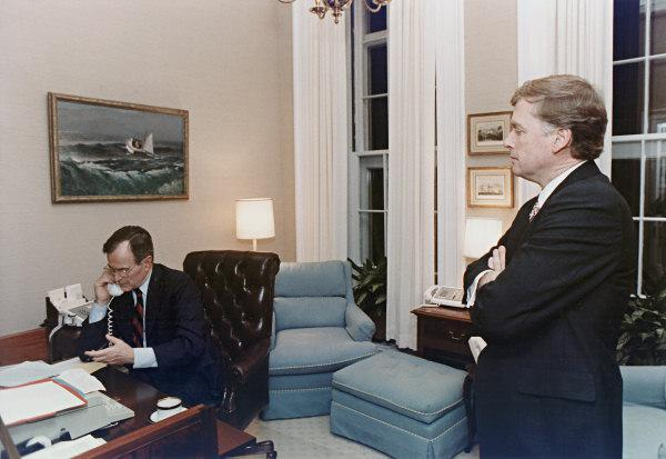 Vice President Presidents Reagan and Clinton