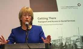 .. Transport Report Launched New Study - Charges for People with Disabilities Living in Residential Settings Policy Issues - Housing Supports - Homeowners Protection - Nursing Home Charges - Habitual