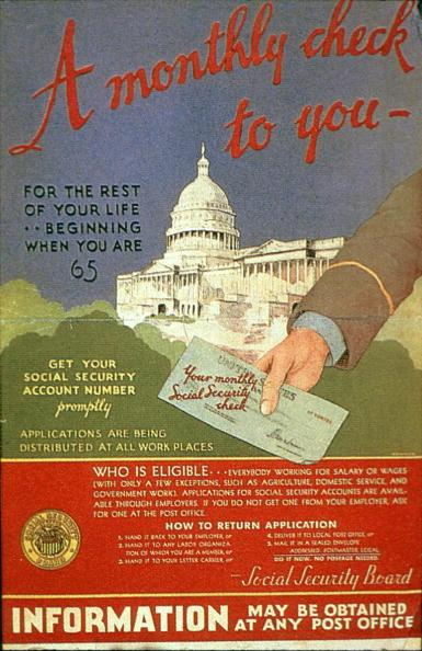 The Social Security Act created a pension system for retirees.