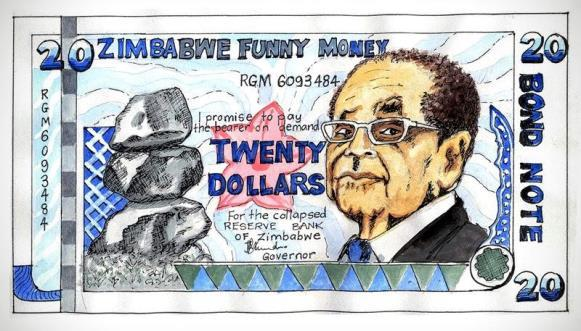 Picture 5:7 Imagination by citizens on what the Bond note would look like.