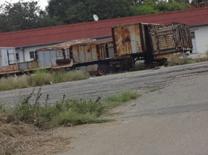 Picture 6:7 The zombie state of affairs at NRZ, Harare depot.