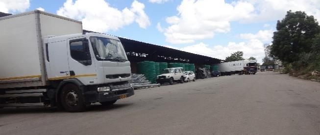 I saw being cleared at the warehouses were NGO Landcruiser cars, water tanks, school buses, industrial generators and industrial chemicals.