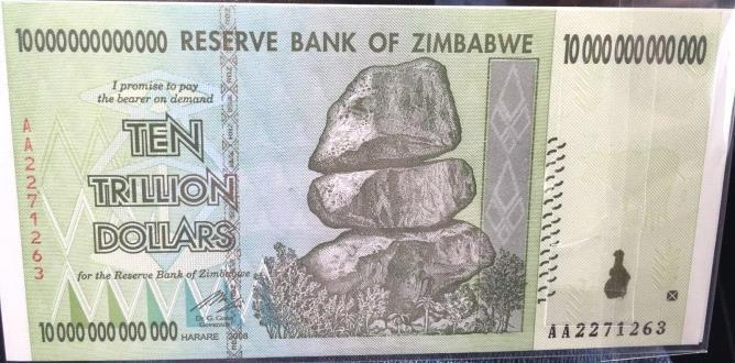 In those days there was a foreign currency black market, so we kept our money in Rands and USD. At the end of each day after trading we would change [convert] the Zim-Dollar into USD or Rands.