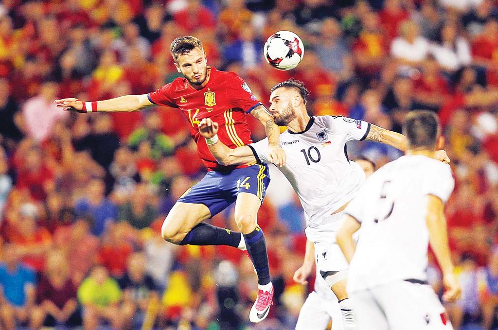 SPORTS 35 Spain shrug off crisis to qualify for WC PARIS, Oct 7, (AFP): Heavyweights Spain qualified for the 2018 World Cup with a routine 3-0 home win over Albania, but Serbia must wait to seal to