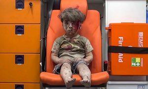 "viii: Omran Daqneesh, Aleppo Media Centre, 2016 Bibliography: ""Americas Picture Power: Tragedy of Omayra Sanchez."" BBC News. BBC, 30 Sept. 2005. Web. 28 Apr. 2017. <http://news.bbc.co.uk/2/hi/4231020."