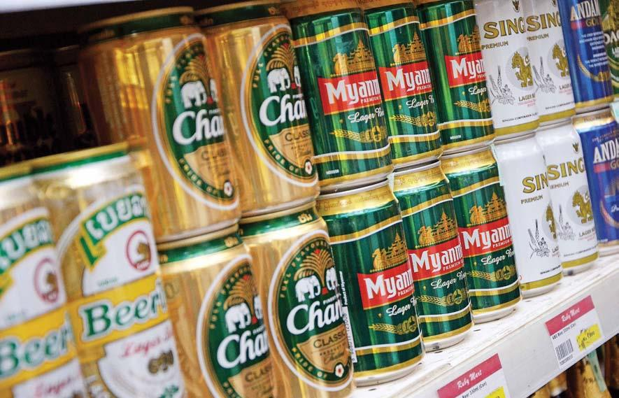 www.mmtimes.com Task force uncovers illegal alcohol sales in Mandalay SI THU LWIN sithulwin.mmtimes@gmail.