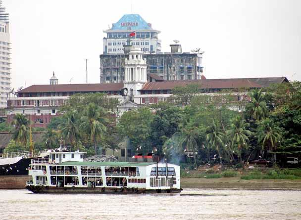 com Myat Nyein Aye PLANS for a towering office and hotel complex in Yangon s Pansodan Port have been shelved in the face of opposition from the city s development committee even though the project