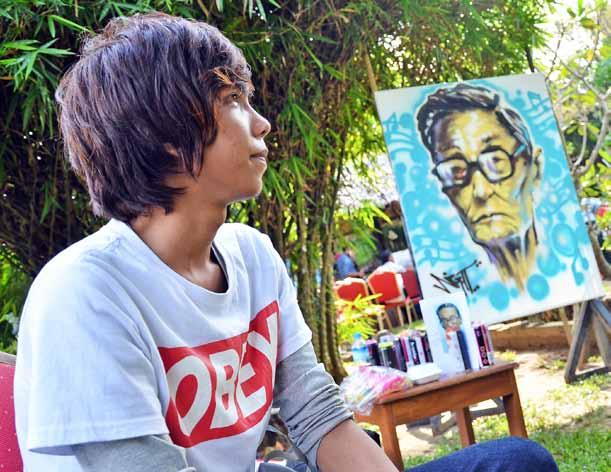 www.mmtimes.com the pulse 43 Art through forms and generations Nandar Aung nandaraung.mcm@gmail.