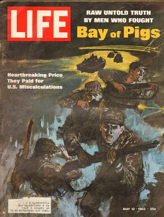 overthrow Castro Invasion at the Bay of Pigs