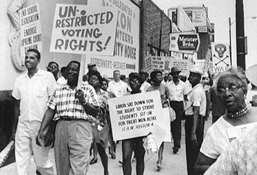 VOTING RIGHTS ACT OF 1965 Gave broadest protection of the right to vote Despite the elimination of these practices, African American voting in elections