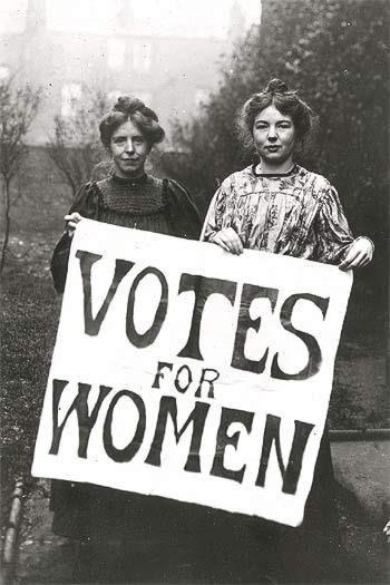 WOMAN SUFFRAGE Fight for suffrage began in the mid 1850 s By 1914,
