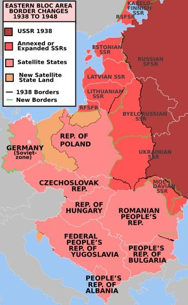 Tension Mounts: Stalin and the Soviet Union installed communist governments in Albania, Bulgaria, Czechoslovakia, Hungary, Romania, and Poland These countries became known as satellite nations,