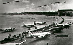 The Berlin Airlift Tension then rose when in June 1948, in an attempt to rebuild
