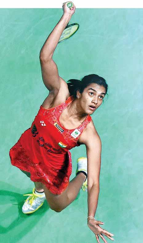 The win by Sindhu meant that the head-to-head record between the two is now levelled at 6-6.