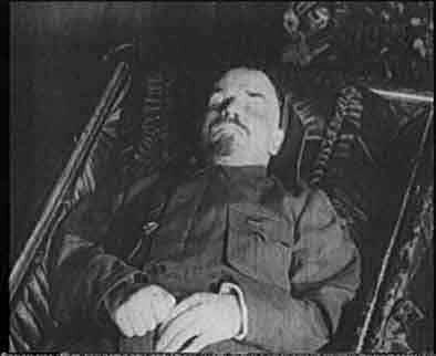 Lenin dies in 1924 Who would take his place?