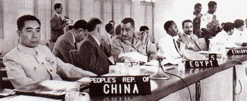 Zhou Enlai (China) Nehru (india) Ho