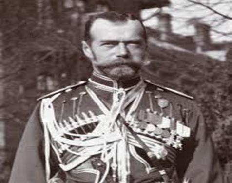More problems with Nicholas as leader Nicholas II Tsar of Russia from 1894 to March 1917.