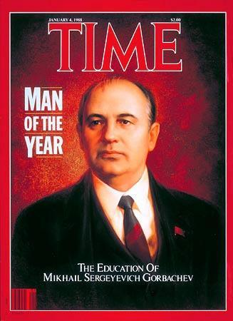 Mikhail Gorbachev General Secretary and wanted a change for the Soviet People 1985-1991 Glasnost Soviet policy to open the free flow of ideas and