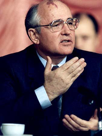 Mikhail Gorbachev Becomes leader of USSR in 1985 Glastnost: