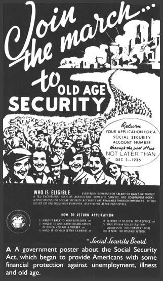 The Social Security Act The Social Security Act became law in 1935.