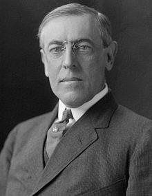 President Woodrow Wilson wanted to remain neutral.
