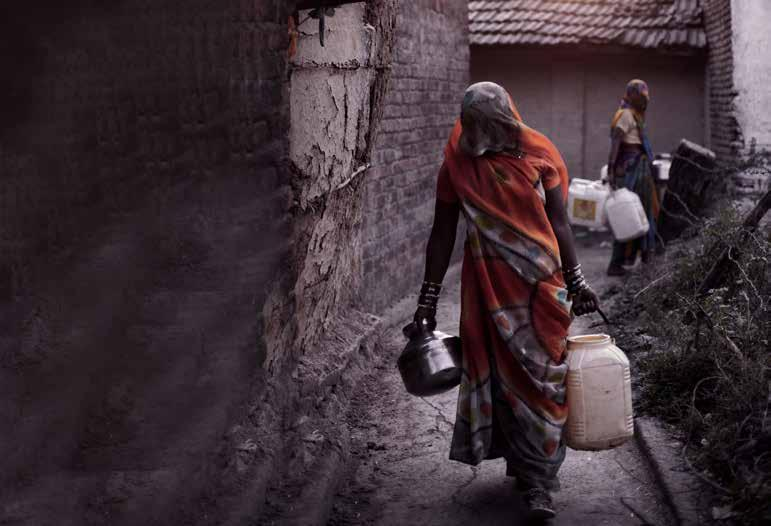 Breaking Free: Rehabilitating Manual Scavengers Manual scavenging refers to the practice of manually cleaning, carrying, disposing or handling in any manner, human excreta from dry latrines and