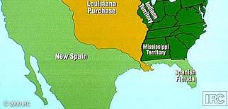 The Territory Implications The Louisiana Purchase more than doubled the size of the United States The over 600 million acres were purchased for a