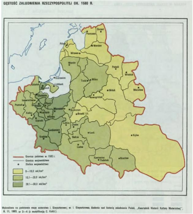Historical Framework A map of Poland before the partitions Irena Grosfeld and Ekaterina Zhuravskaya (presented by