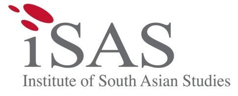 ISAS Brief No. 570 7 May 2018 Institute of South Asian Studies National University of Singapore 29 Heng Mui Keng Terrace #08-06 (Block B) Singapore 119620 Tel: (65) 6516 4239 Fax: (65) 6776 7505 www.