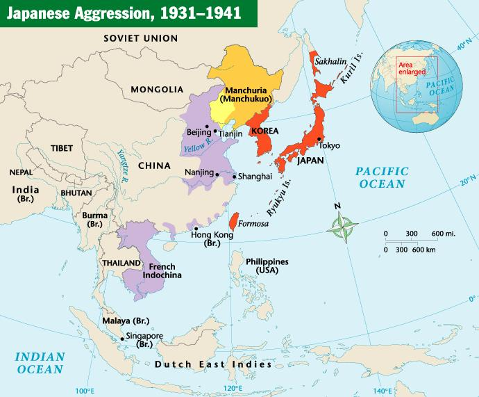 Japanese Aggression Chapter 17, Section 3 Japan s