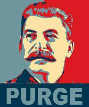 Stalin s Purges Through the NKVD (secret police) Stalin created a