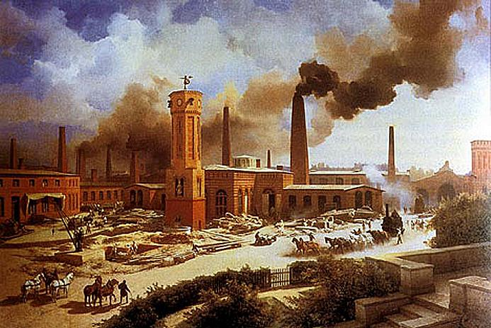 Problems of Industrial Revolution àtime