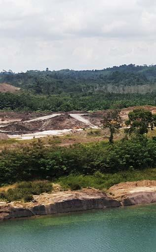 104 JATAM findings rebutted previous statements from the East Kalimantan Environmental Bureau (BLH) on May 11, 2015 that claimed there was no pollution from the mining activities of Kutai Energi in