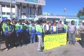 At this event, the railroad workers of Shahroud and some other places participated in a rally, but their demands were left without a response from the companies.