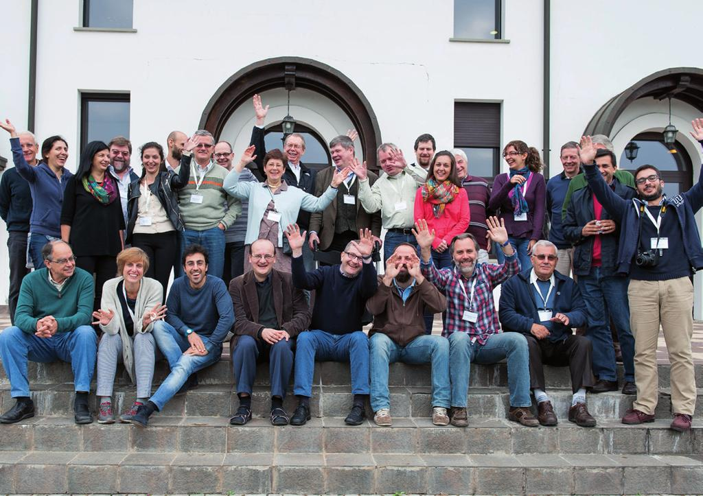 JRS members of staff from across Europe at the Regional