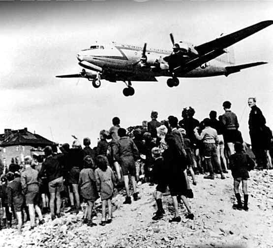 Superpowers Struggle over Germany The Berlin Airlift 1948, Stalin closes highway and