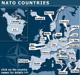 Republic of Germany and German Democratic Republic form The NATO Alliance Fear of