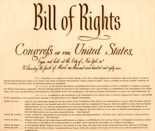Bill of Rights Only after many state conventions were promised an individual Bill of Rights did they ratify the Constitution.