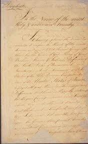 Treaty of Paris Sep.