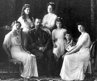 Czar Nicholas II and his Romanov family begin losing favor and power among Russians Mistakes include: o Military kills hundreds during