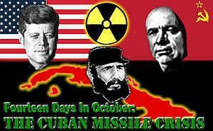 THE CUBAN MISSILE CRISIS In 1963, American spy planes photographed nuclear missile sites being built in Cuba.