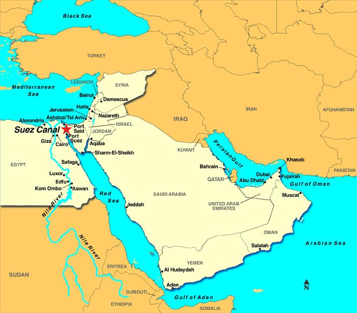 The Suez Crisis In 1956, the Egyptian President nationalized the Suez Canal to make money. Because he was aligned with the Soviet Union, the US and GB refused to pay for the Aswan Dam.