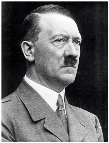 Adolf Hitler Hitler followed a path similar to Mussolini. His NAZI party had total power in Germany.