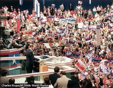 Political Parties I INTRODUCTION Political Convention Speech The drama and pageantry of national political conventions are important elements of presidential election campaigns in the United States.