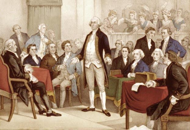 First Continental Congress In September 1774, delegates from all colonies except