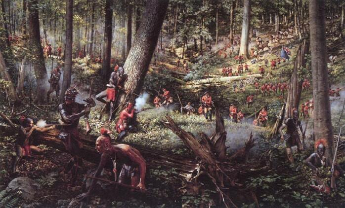 French and Indian War, continued Colonists fought for the British, while the Native Americans fought for the French.